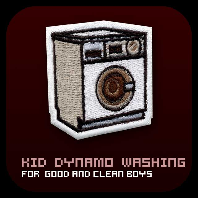 Kid Dynamo Washing Machine